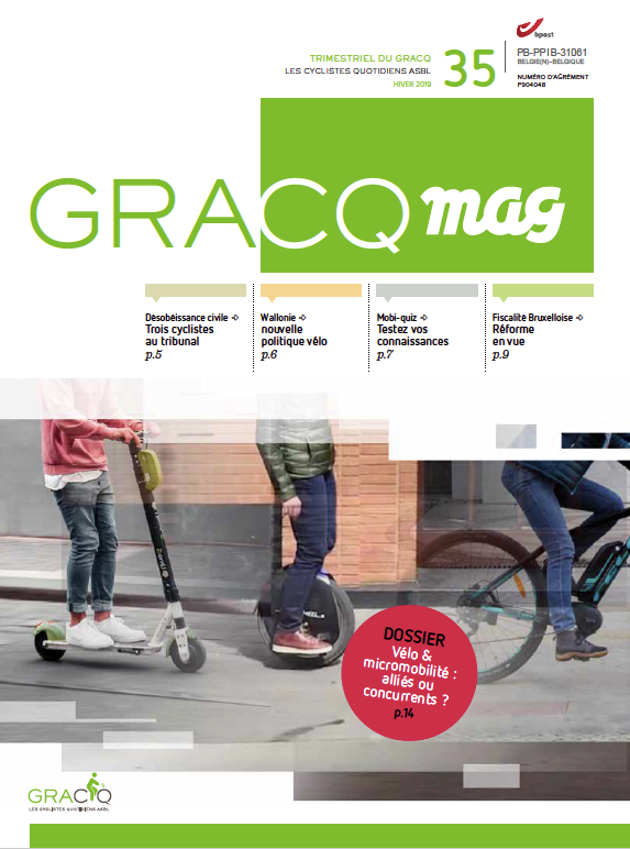 Cover GRACQ Mag 35